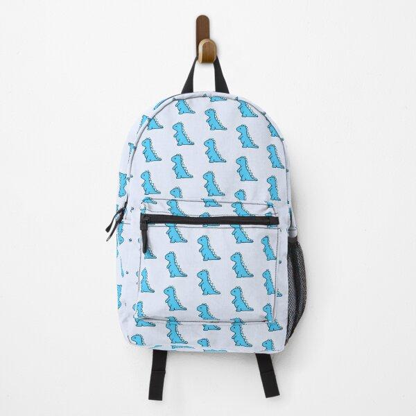 little blue dinosaur Backpack