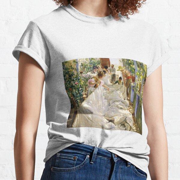 Joaquín Sorolla - Sewing the Sail Classic T-Shirt