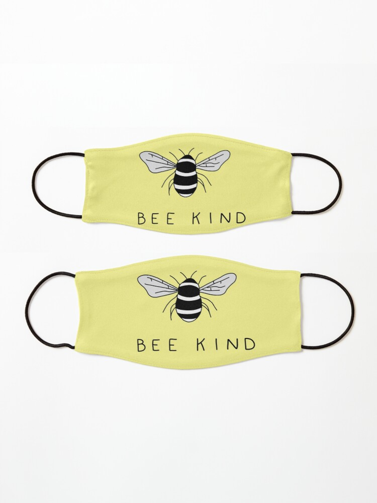 Alternate view of bee kind Mask