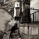 Earth Swallowing Cemetery by Talia Felix