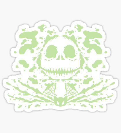 Jack Skell-ink-ton (light) Sticker