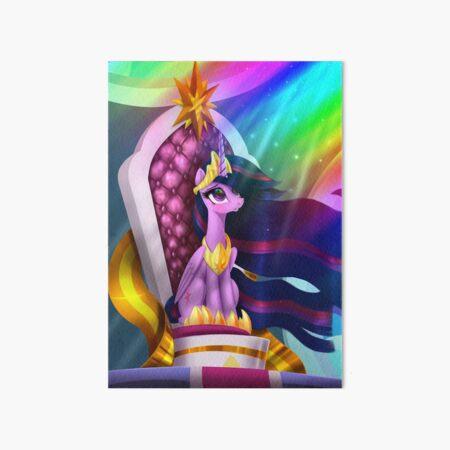 Princess of Friendship Art Board Print