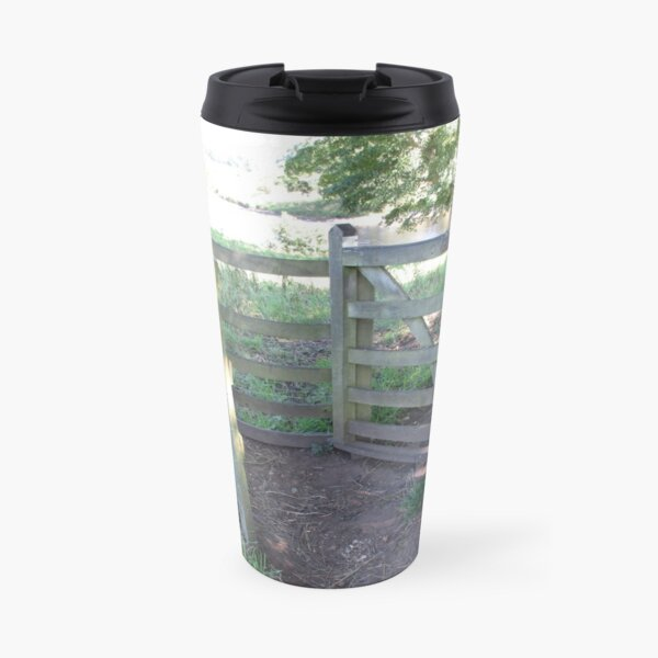 Merch #91 -- Kissing Gate (Hadrian's Wall) Travel Mug