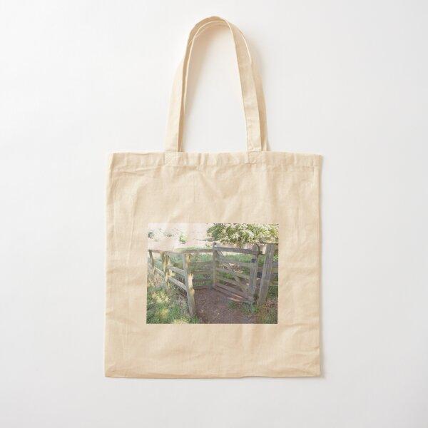 Merch #91 -- Kissing Gate (Hadrian's Wall) Cotton Tote Bag
