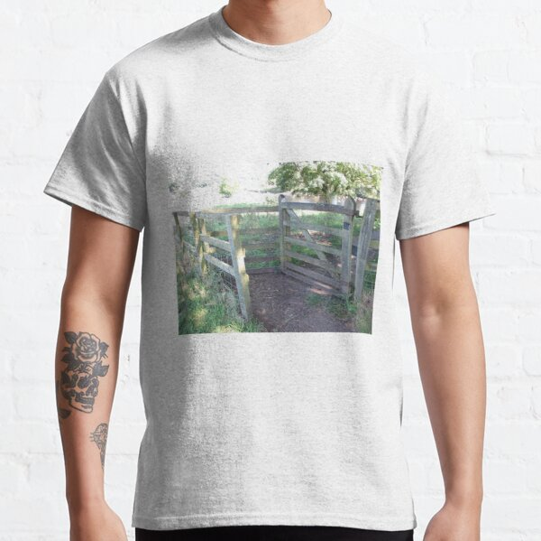 Merch #91 -- Kissing Gate (Hadrian's Wall) Classic T-Shirt