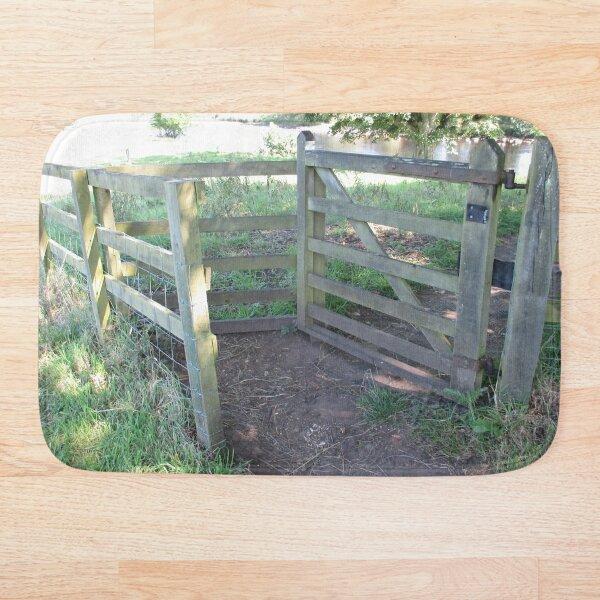 Merch #91 -- Kissing Gate (Hadrian's Wall) Bath Mat