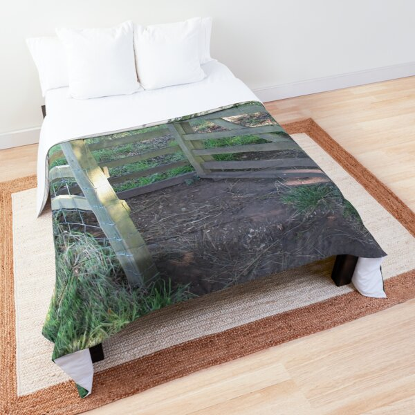 Merch #91 -- Kissing Gate (Hadrian's Wall) Comforter