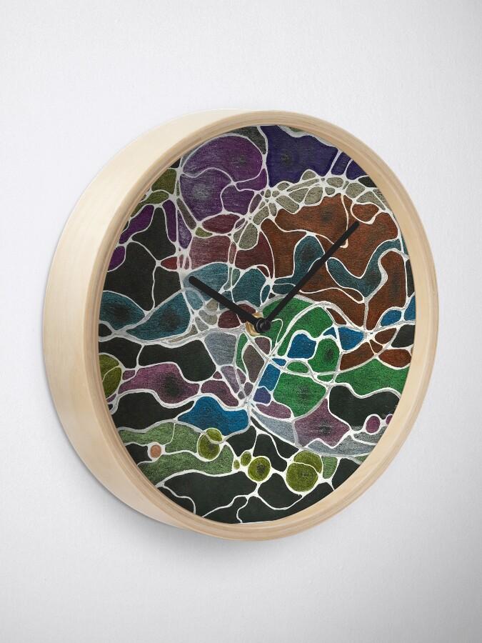 Alternate view of NeuroMoon Clock