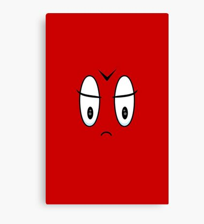 Angry Expression VRS2 Canvas Print