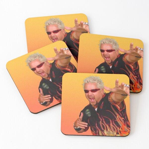 guy fieri Coasters (Set of 4)