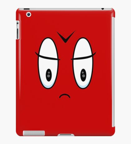 Angry Expression VRS2 iPad Case/Skin