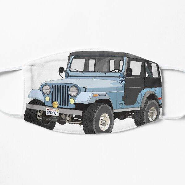 Stiles' Blue Jeep Sticker Mask