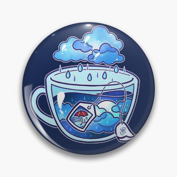 Rainy Day Tea Pin