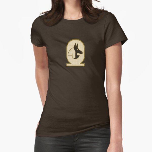 Curse Decree: Sheut the Jackal-Headed Fitted T-Shirt