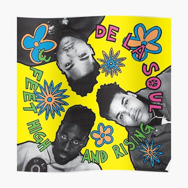 De La Soul 3 Feet High and Rising Album Cover  Poster