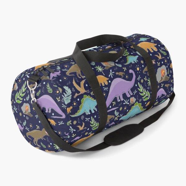 Dinosaurs at Night Duffle Bag