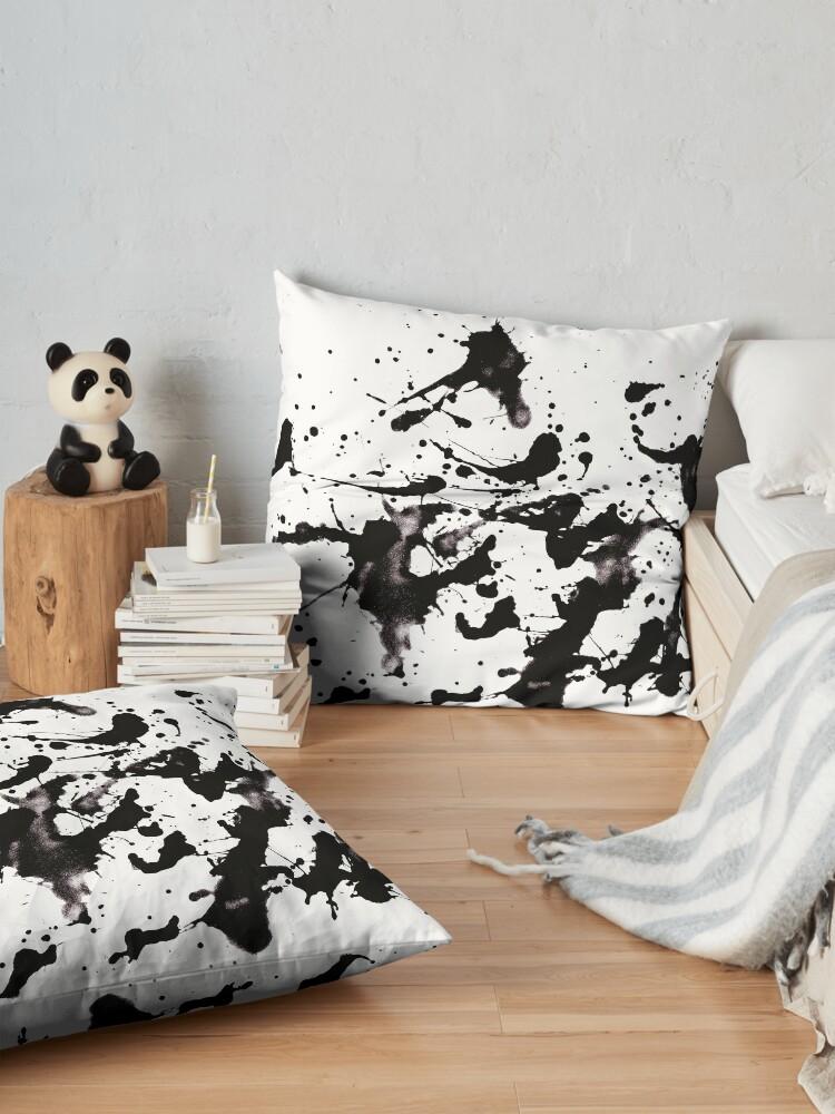 Alternate view of Like Pollock Floor Pillow