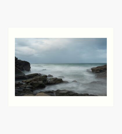 At the beach....  Mooloolaba Art Print