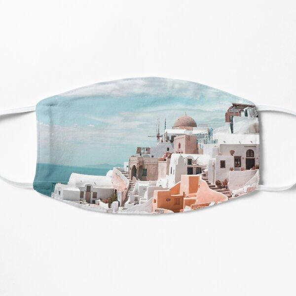 Santorini Oia Greece Flat Mask