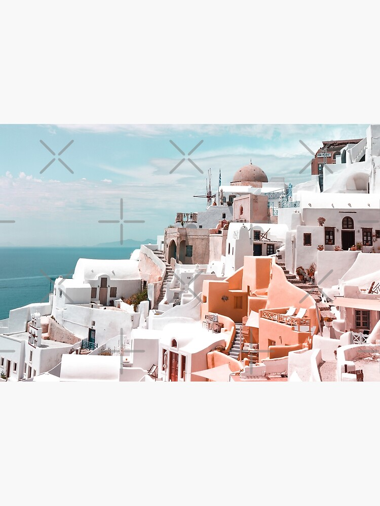 Santorini Oia Greece by PrintsProject