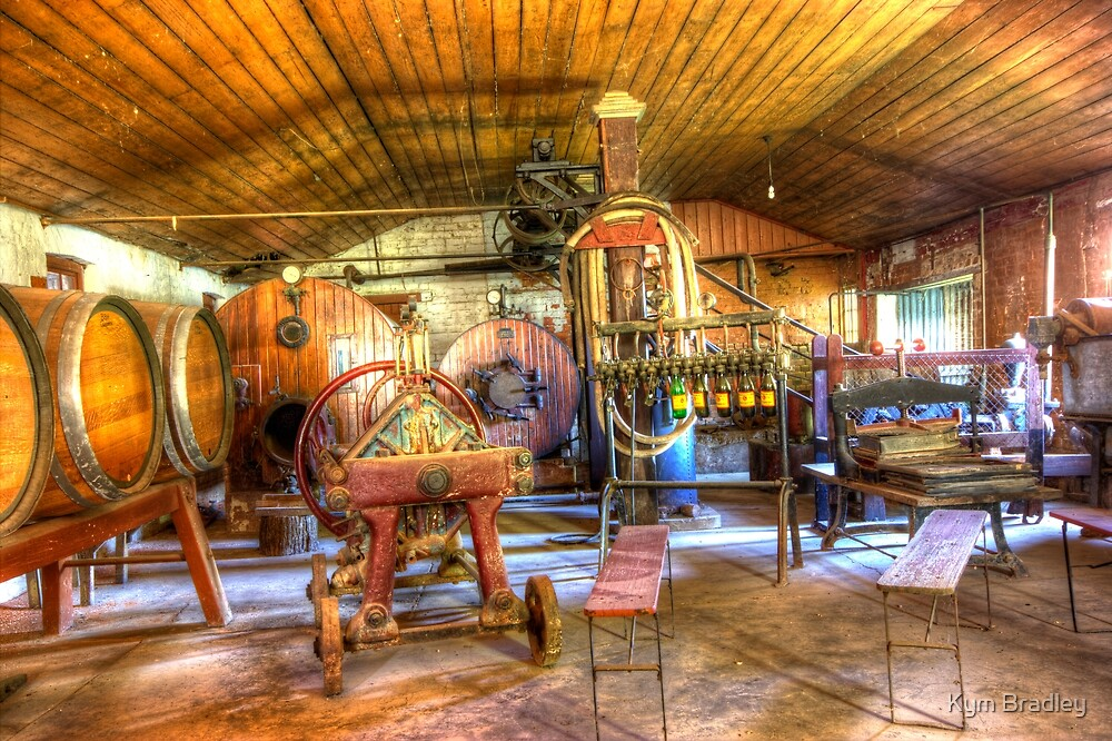 Old Brewery Goulburn NSW  Australia  by Kym Bradley