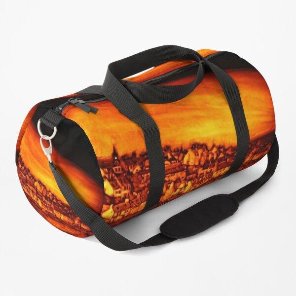 Pittenweem West Shore, Pumpkin Carving Duffle Bag