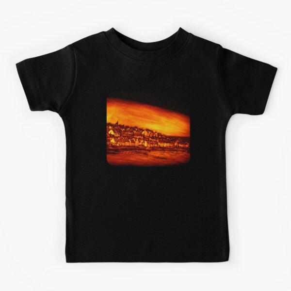 Pittenweem West Shore, Pumpkin Carving Kids T-Shirt