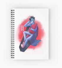 Sleepy Little Vampire Spiral Notebook