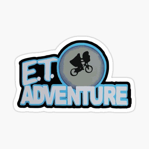 E.T. Adventure Ride Logo  Sticker