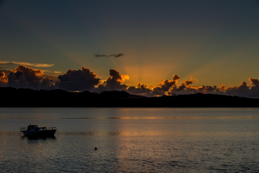 Mangonui Sunrise by Russell Charters