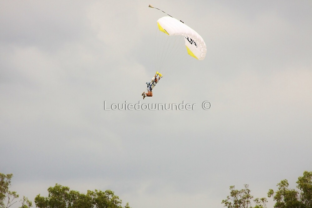 Parachuting by Louiedownunder  ©