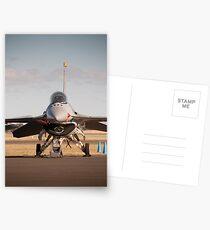 USAF F16 Falcon. Avalon Air Show 2013 Postcards