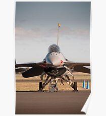 USAF F16 Falcon. Avalon Air Show 2013 Poster
