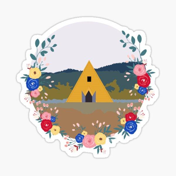 Minimalist Midsommar (kinda) Sticker
