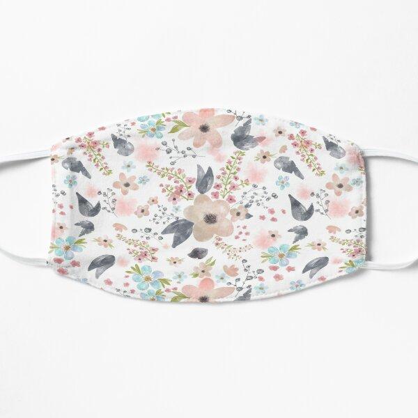 Floral Daisy Pattern Mask