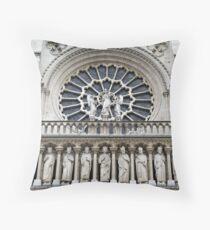 Notre Dame de Paris Throw Pillow
