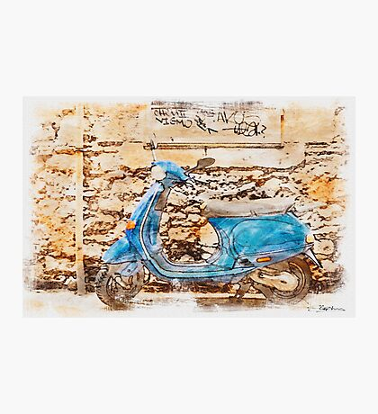The Vespa Photographic Print