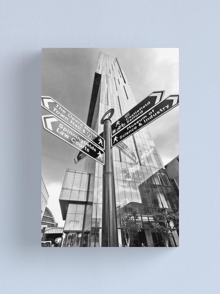 Alternate view of Beetham Tower, Manchester City Centre Canvas Print