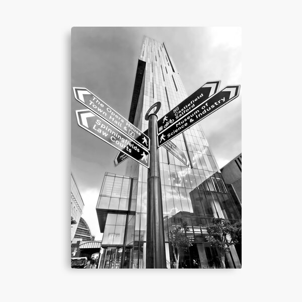 Beetham Tower, Manchester City Centre Canvas Print