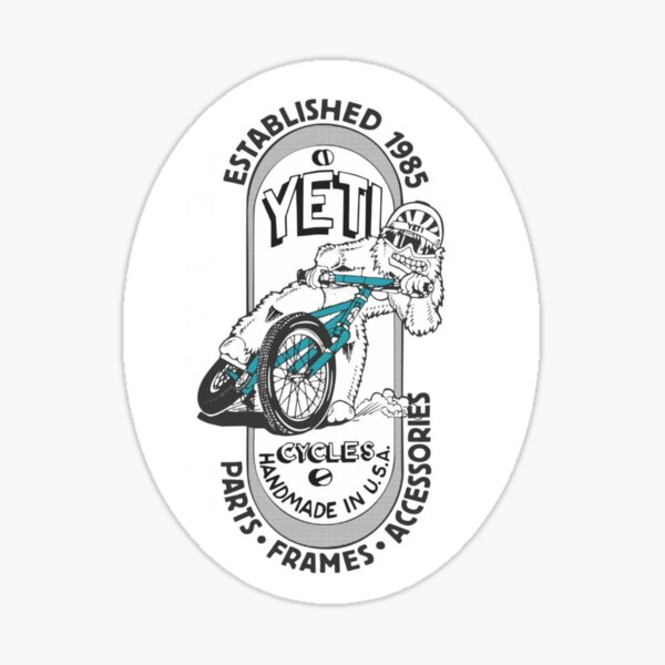 Yeti Cycles Sticker Sticker