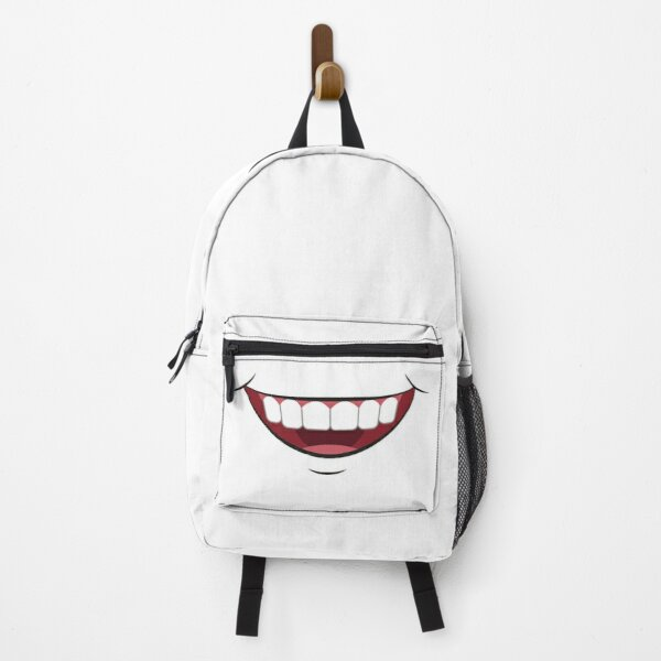 Big Funny Mouth Mask T-Shirt Backpack