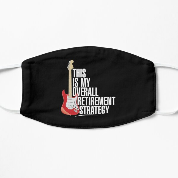 Electric Guitar Retirement Strategy Mask
