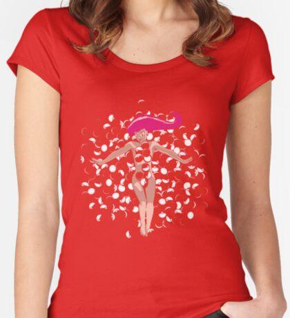 POKE BEAUTY Women's Fitted Scoop T-Shirt