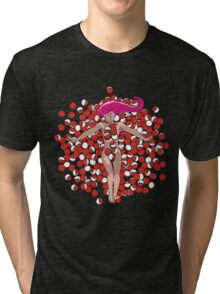POKE BEAUTY Tri-blend T-Shirt