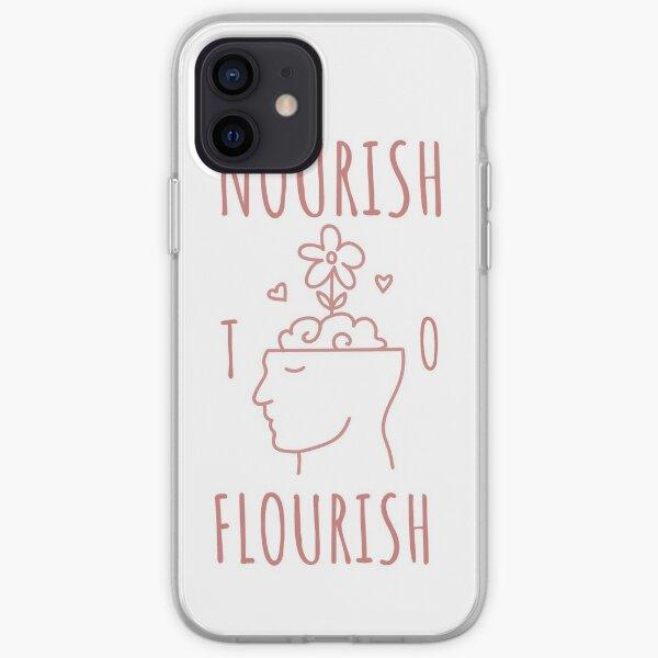 Nourish to Flourish (Pink) iPhone Soft Case