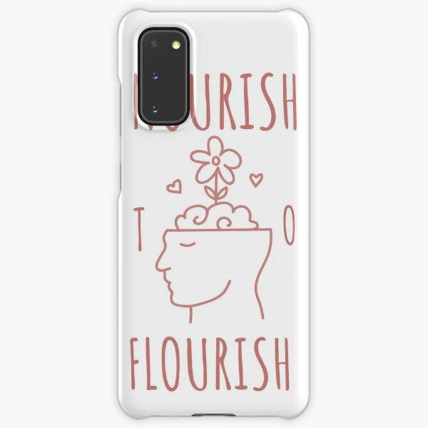 Nourish to Flourish (Pink) Samsung Galaxy Snap Case
