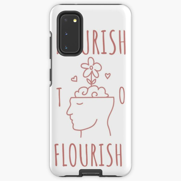 Nourish to Flourish (Pink) Samsung Galaxy Tough Case