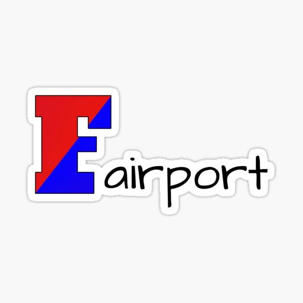fairport sticker Sticker