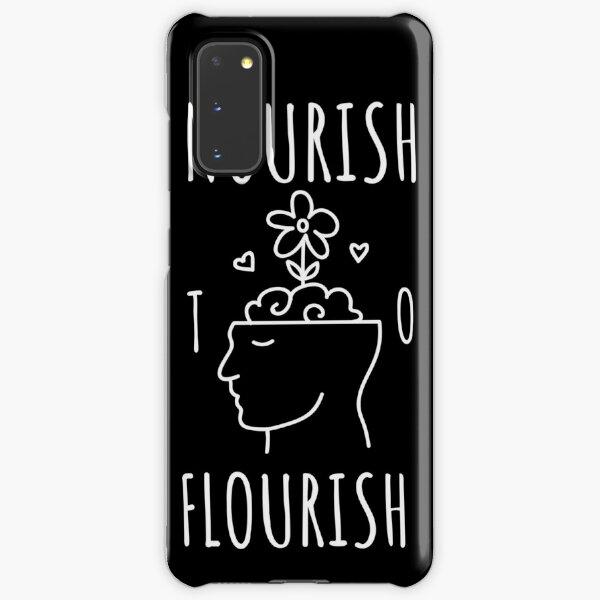 Nourish to Flourish (White) Samsung Galaxy Snap Case