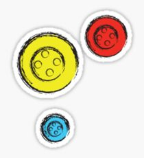 Buttons Sticker